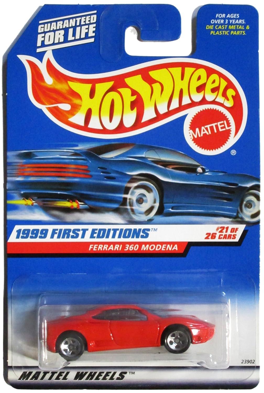 Amazon.com: 1999 First Editions -#21 Ferrari 360 Modena Hot Wheels ...