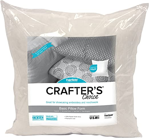 Fairfield Crafters Choice Pillow 12in x 16in Case of 4