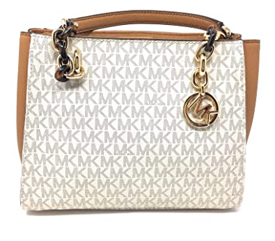 b64e644dee904a Amazon.com: Michael Kors Sofia Large Signature MK Shoulder Tote Bag: Shoes