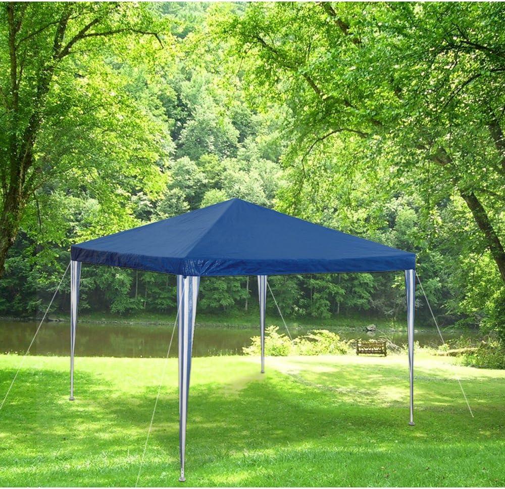Huigou HG® 3 x 3 m carpa para fiestas, bodas, playa, camping, jardín, resistente al agua: Amazon.es: Jardín