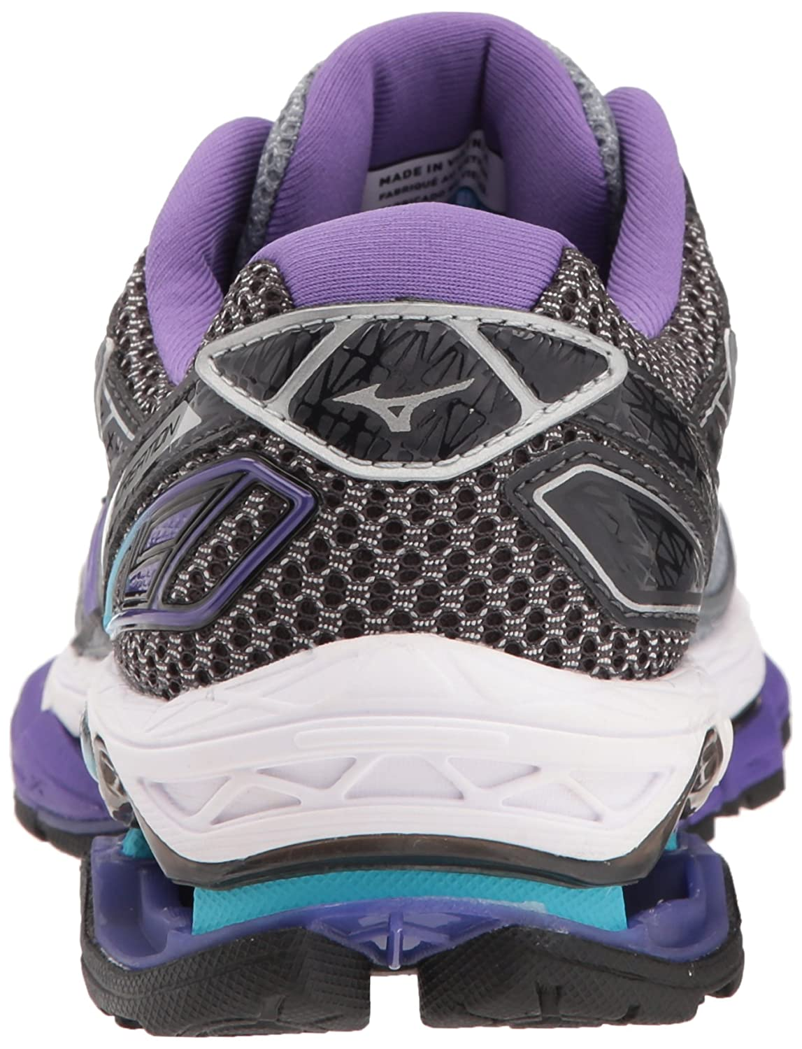 Mizuno Running Shoes Women's Wave Creation 19 Shoes Running B0722NR18W 8 B(M) US|Monument/Passion Flower 8f714f