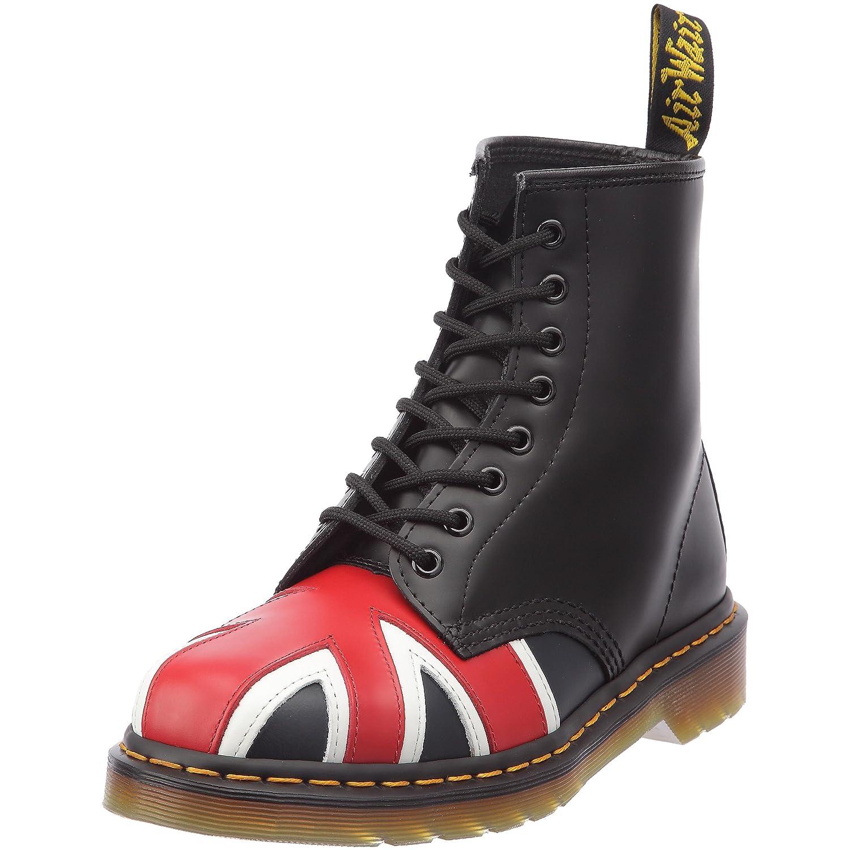 Dr Martens Union Jack Botas militares color: Nero