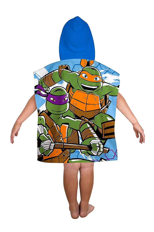 TMNT Poncho Infantil de Las Tortugas Ninja: Amazon.es: Hogar
