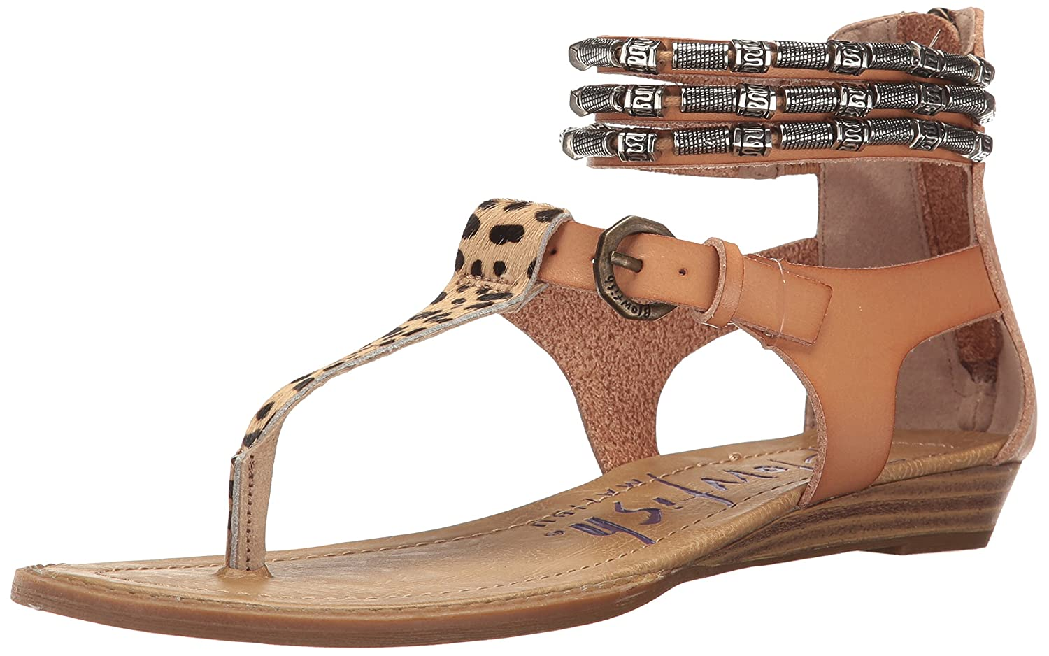 ba6fd7fd34d6 Blowfish Women s Bombshell Wedge Sandal  Amazon.co.uk  Shoes   Bags