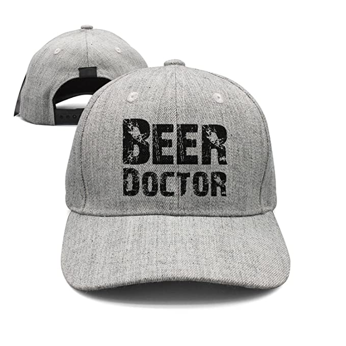 srygjukuu Unisex Beer Doctor Caps Personalized Wool Strapback Hat at ... 41a0dc2331e