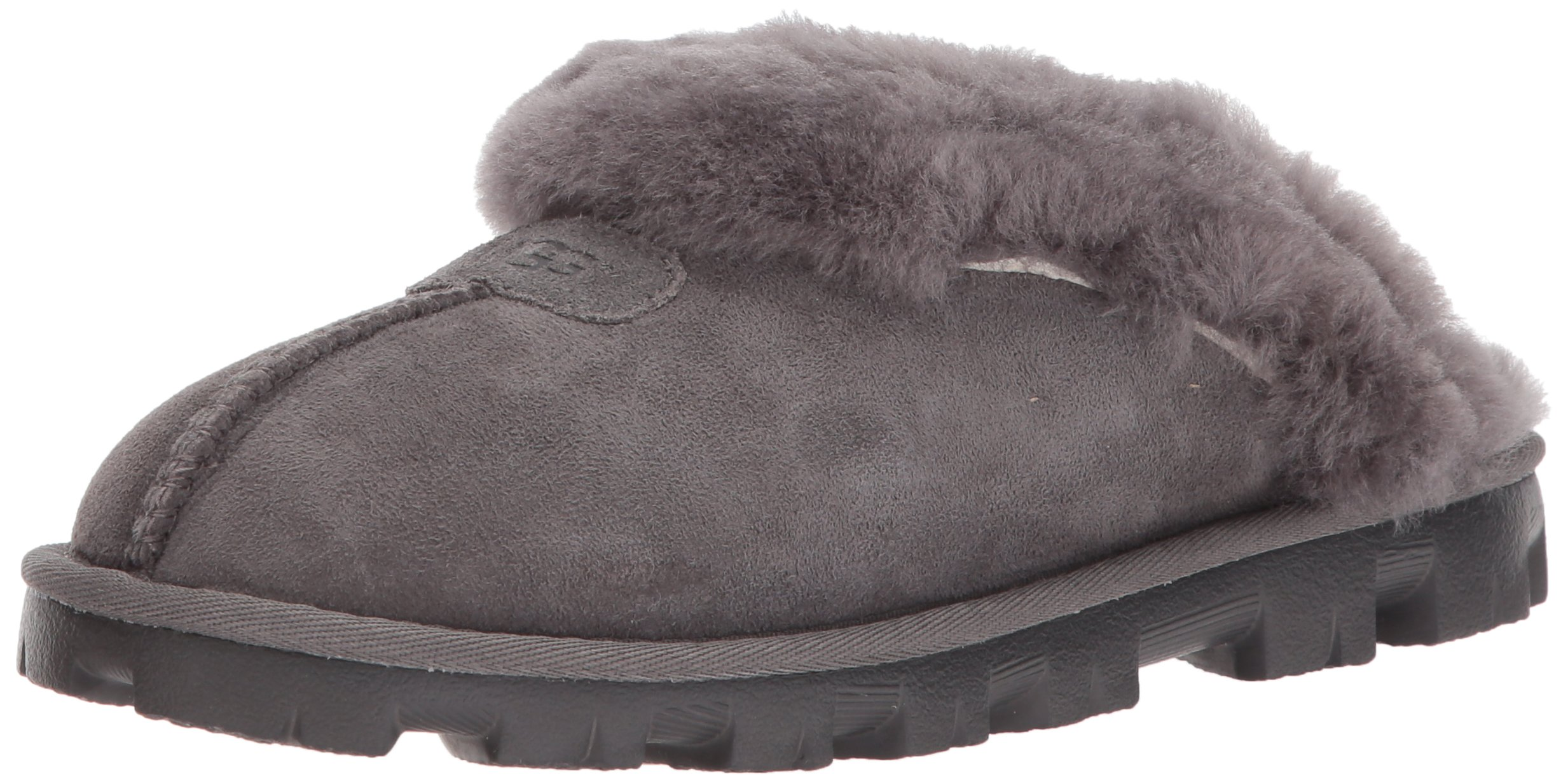 UGG Women's Coquette Grey Slipper - 9 B(M) US