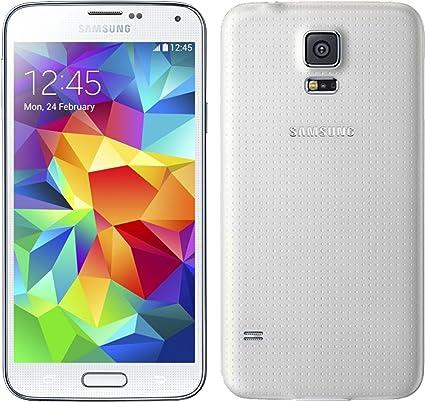 SAMSUNG G901 Galaxy S5 4G 16GB Shimmering White: Amazon.es ...