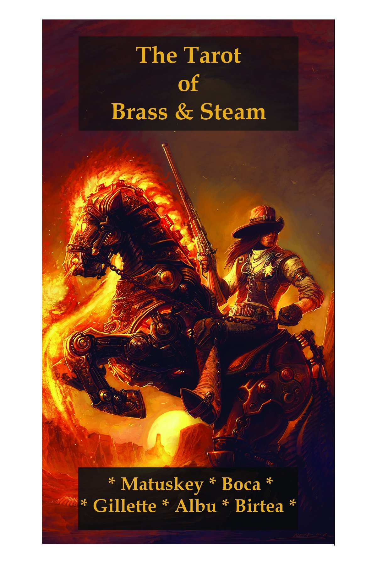 The Tarot of Brass & Steam: A Steampunk Deck 3