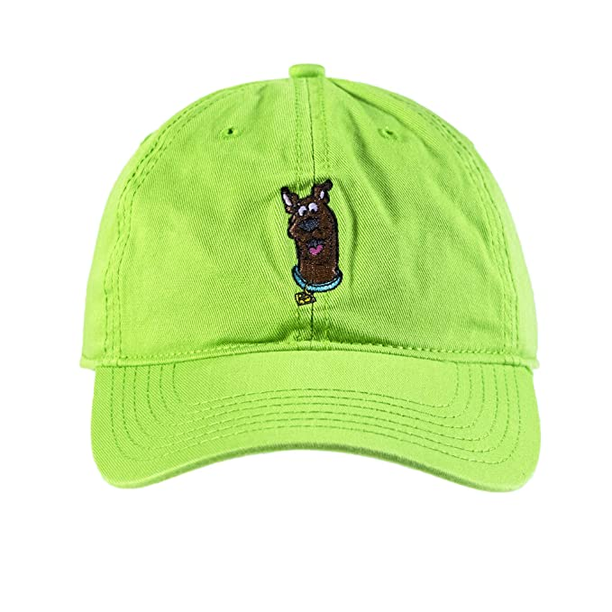 248986897 Warner Bros Men's Scooby-doo Baseball Cap, Embroidered Character Art