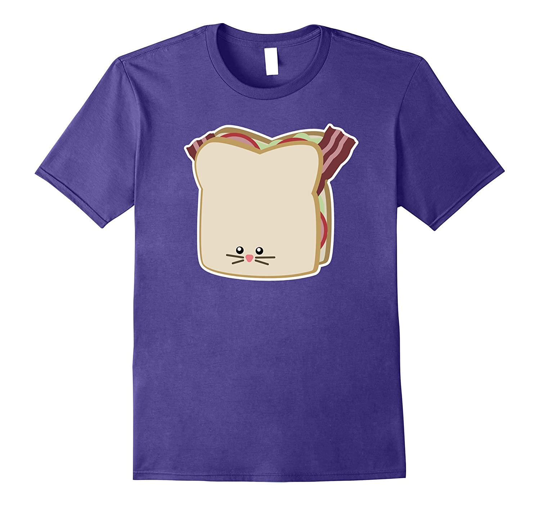 BLT Sandwich Cute Cat Shirt - Dark Shirts-PL