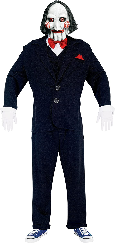 Saw - Disfraz hombre, talla UK 42 (PM818013): Amazon.es: Juguetes ...