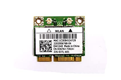 DELL LATITUDE E6530 NOTEBOOK 15041540 WLAN HALF MINICARD DESCARGAR DRIVER