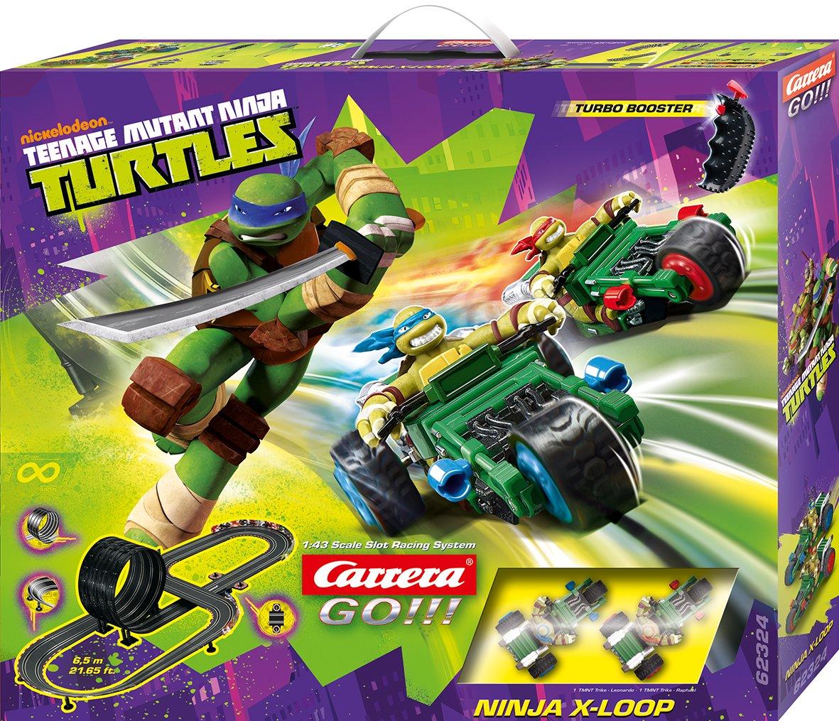 Carrera - Circuito GO 143 Ninja X-Loop (Tortugas Ninja) 6.5 Metros, Escala 1:43 (20062324)