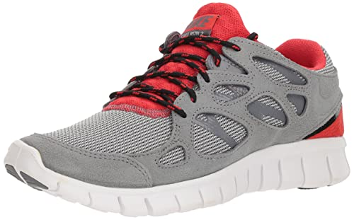 promo code 72a6f 6188e Nike Men's Free Run 2 Cool Grey/Black/Challenge Red/Cool Red 8 D - Medium:  Buy Online at Low Prices in India - Amazon.in