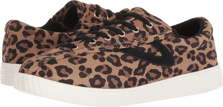 Tretorn Women's Nylite2 Plus B(M) Fashion Sneaker B07CZ1NPB1 10.5 B(M) Plus US|Tan/Black Multi 309a41