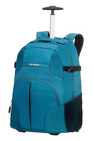 Samsonite Rewind, Mochila con ruedas, 55 cm, Turquesa (Turquoise): Amazon.es: Equipaje