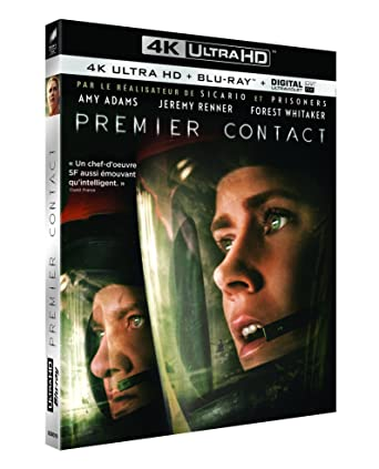 Premier contact [4K Ultra HD + Blu-ray + Copie Dig