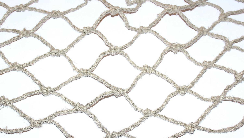 Malla de jard/ín Natural lino /ø3/mm 70/x 70/mm anti P/ájaro Decoraci/ón Caballo lento Alimentador estanque protecci/ón