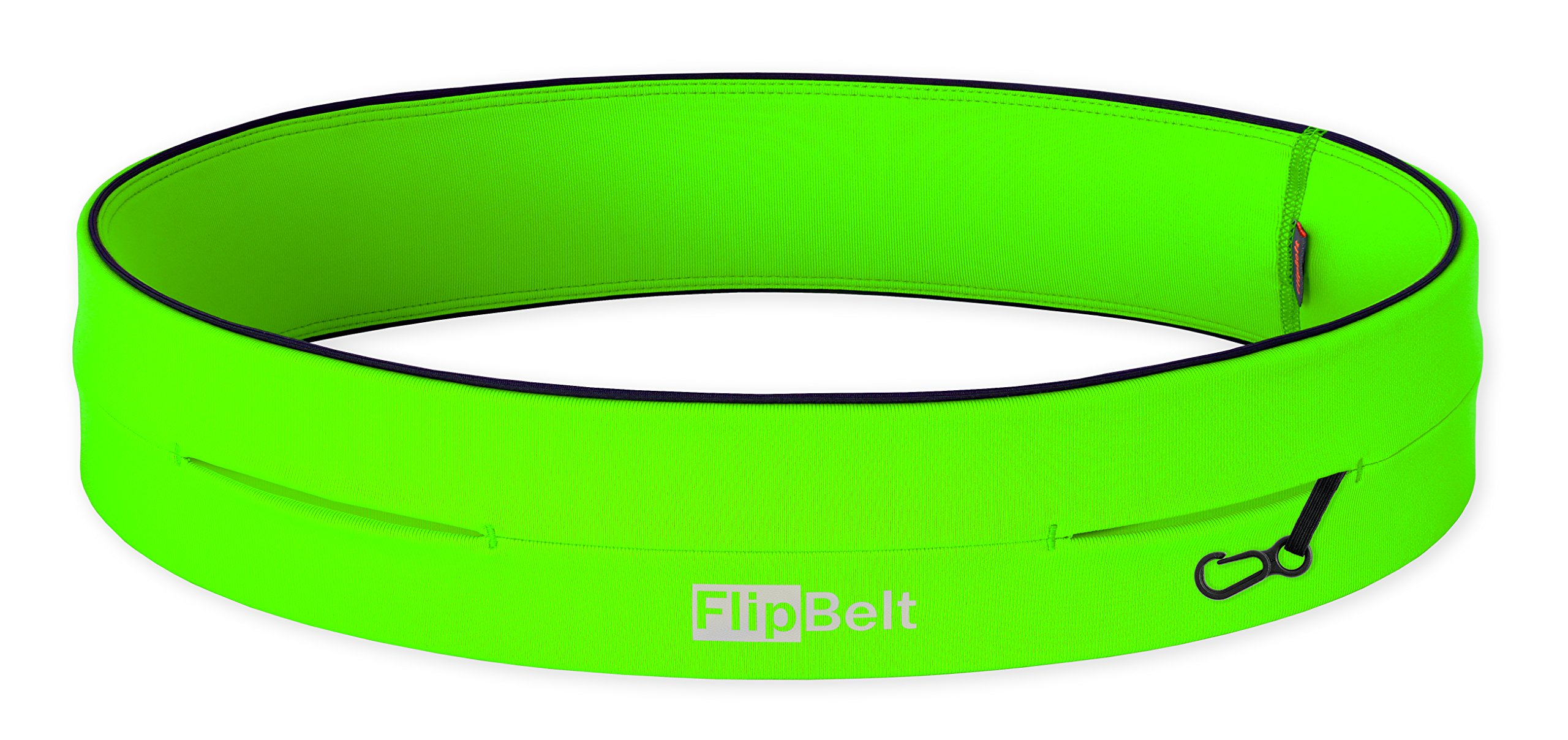 FlipBelt Level Terrain Waist Pouch, Neon Green, X-Small/22-25