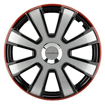 Goodyear 7560 - Juego de 4 tapacubos (14 Pulgadas, 3 Unidades), Colores: Amazon.es: Coche y moto