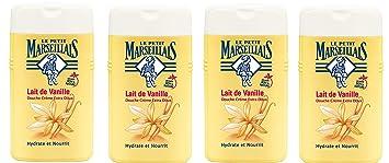 Le Petit Marseillais ducha crema Extra suave Leche de Vainilla 250 ml – juego de 4
