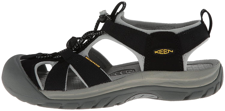 KEEN Women's Venice H2 Sandal B00HGAG7W2 10.5 B(M) US|Black/Neutral Gray