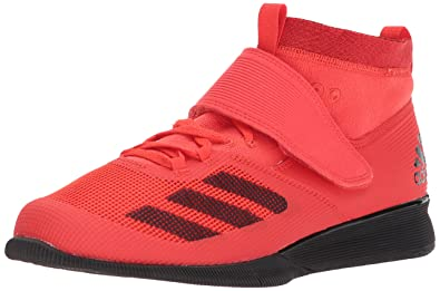 adidas Performance Mens Crazy Power RK Cross Trainer, Hi-Res Red/Black/