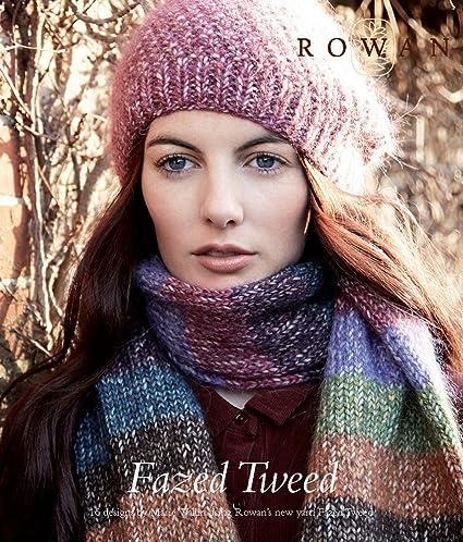 Amazon Rowan Fazed Tweed Knitting Pattern Book Marie Wallin