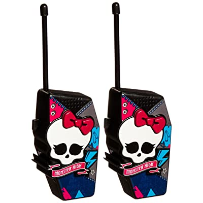 Monster High 78048 Monster High Molded Walkie Talkies: Toys & Games