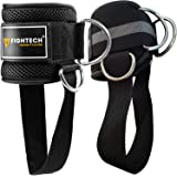 FIGHTECH Ankle Straps for Cable Machines | PRO Series Fitness Ankle Cuffs for Women & Men | Padded Ankle Straps Gym…