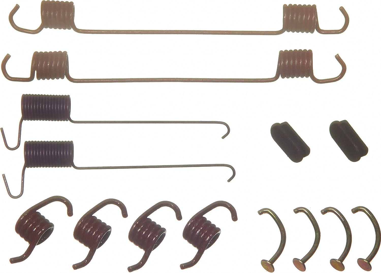 Wagner H7197 Drum Brake Hardware Kit Rear