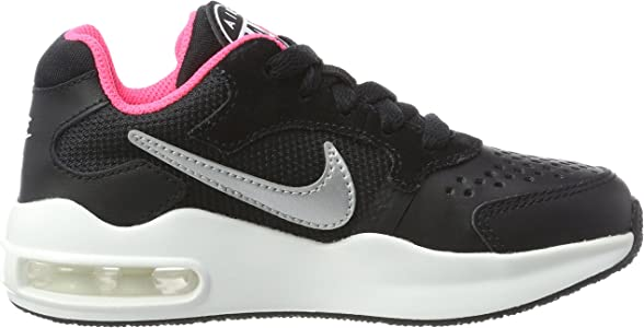 Nike Air MAX Guile (PS), Zapatillas de Trail Running para Niñas, Negro (Black/Metallic Silver/Racer Pink/White 001), 28 EU: Amazon.es: Zapatos y complementos
