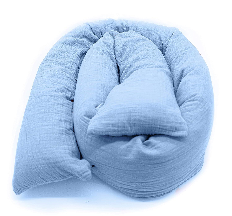 Baby Schaukel Bett Waschbar Seide Baumwolle Elastisch Netz mit Weichen Diamant Samt Futter Abnehmbare H/ängende Schlafen Bett F/ür Innen Drau/ßen Neugeborenes Ruhe Blau