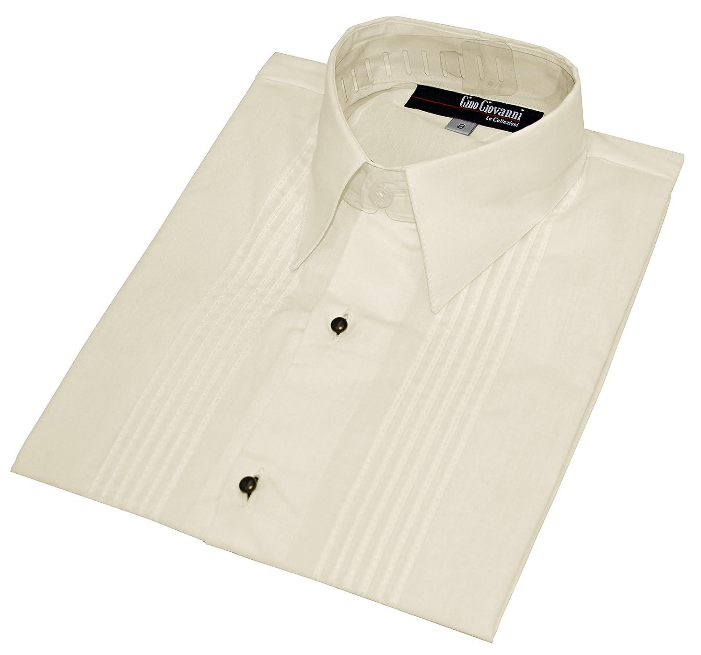 Gino Giovanni Boys Formal Long Sleeve Tuxedo Shirt