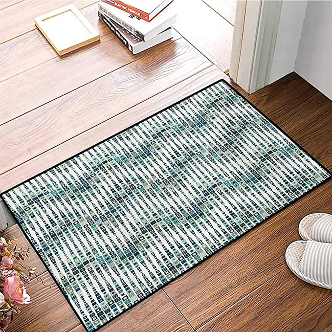 Amazon Geometric Door Mat Outside Wave Shape Geometric Figures