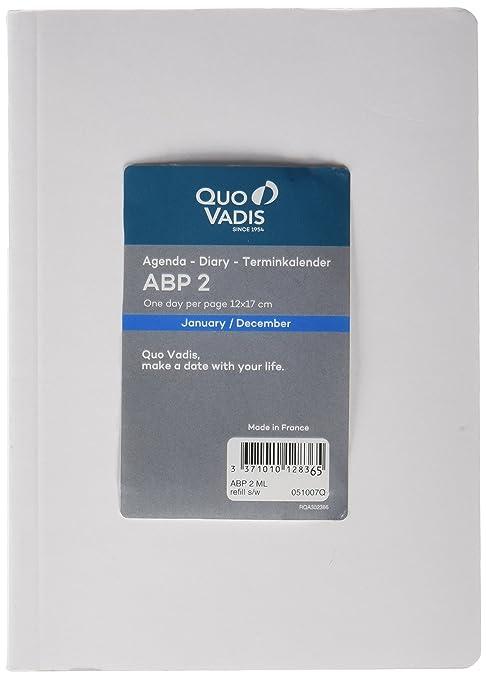 Amazon.com : Quo Vadis ABP - 2 Replacement Agenda 2018, 12 x ...