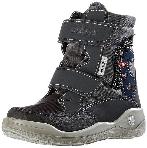RICOSTA Annika Kinder Winterstiefel Schuhe Blau, Größe:30