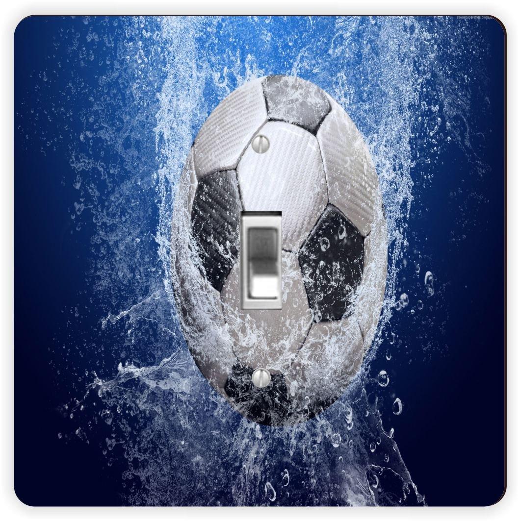 Rikki Caballero balón de fútbol Splash-Single Toggle Interruptor ...