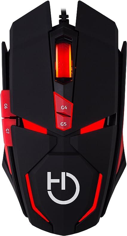 Hiditec Ratón Gaming Alámbrico Micrurus RGB - Sensor Profesional AVAGO A9800 8.100 dpi | Tecnología Gamer OMRON | Ordenador PC - Portátil | Fabricante Español | Incluye Garantía de 2 años: Hiditec: Amazon.es: Informática