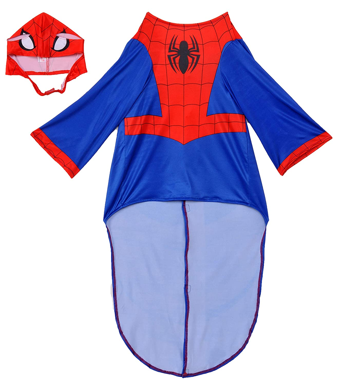 Spiderman superh/éroe perro talla S Disfraz para mascota