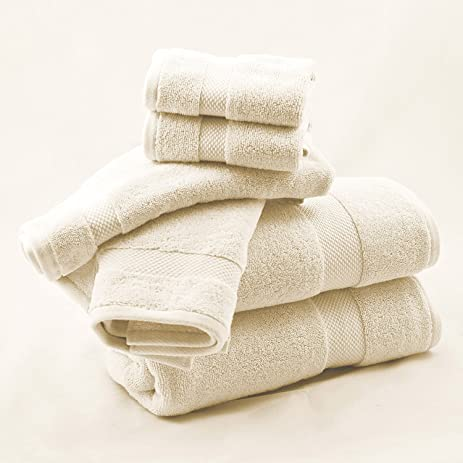 Amazon.com: Vivendi Sanctuary Solid Luxury Spa and Resort 100 ... on organic cotton towels, white tea towels, eco cotton towels, whitecotton dish towels, disposable cotton towels, white hand towels, peri cotton towels, high quality cotton towels, 100% cotton towels, white face towels, white linen towels, black towels, silver towels, white monogrammed towels, white towel sets, white hotel towel, white terry towel, white beach towels, egyptian cotton towels, white bath towels,