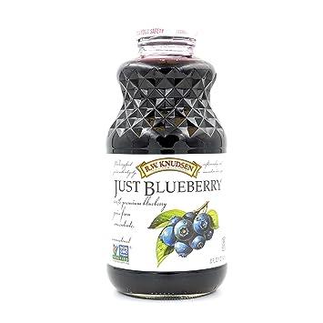 RW Knudsen Family Just Juice, 100% Blueberry, 32 Fluid Ounce