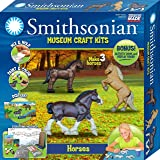 Smithsonian Horses Perfect Cast Museum Cast, Paint, Display and Learn Craft Kit