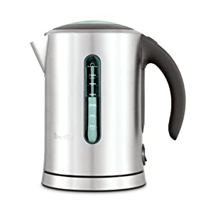 Breville BKE700BSS Soft Top Pure Tea Kettle, Brushed Stainless Steel