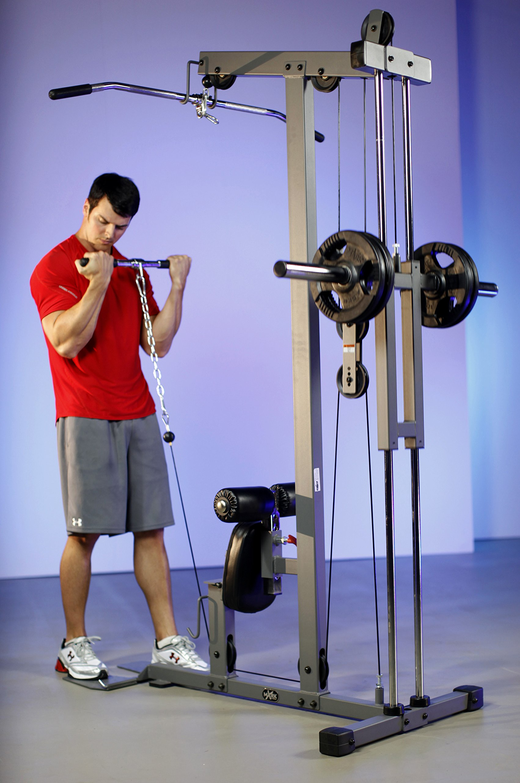 XMark  Lat Pulldown and Low Row Cable Machine XM-7618 by XMark Fitness (Image #2)