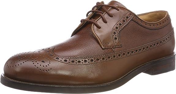 Clarks Coling Limit, Zapatos de Cordones Brogue para Hombre