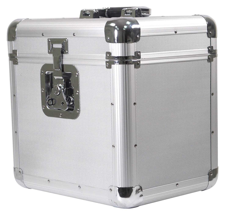 Soundlab G073GA Borsa Porta Vinili, Rigida, da Viaggio (per 70 vinili) Electrovision