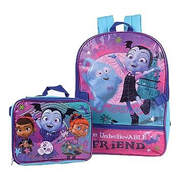 Amazon Com Disney Vampirina Backpack Combo Set Disney Vampirina