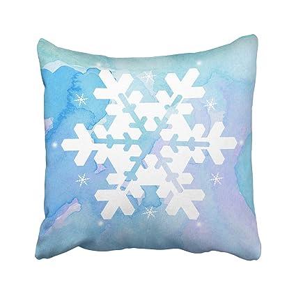 Amazoncom Kutita 20 X 20 Inch Throw Pillow Coverswatercolor