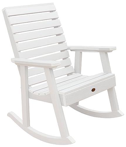 highwood Furniture Weatherly Rocking Chair White
